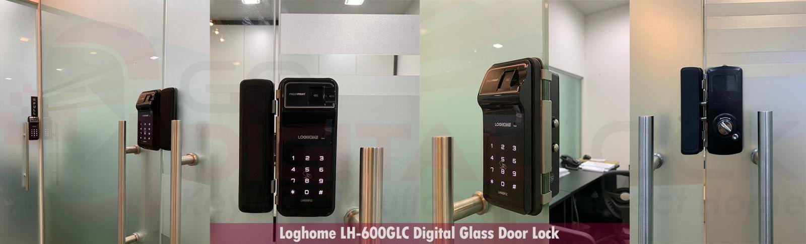 Khóa vân tay cửa kính LOGHOME GLASS LH610FGC-SN/RMC