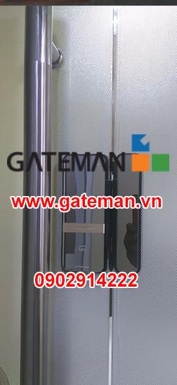 Lắp đặt khóa cửa kính Gateman Shine