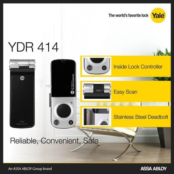 Khóa vân tay - Mã số YDR 414