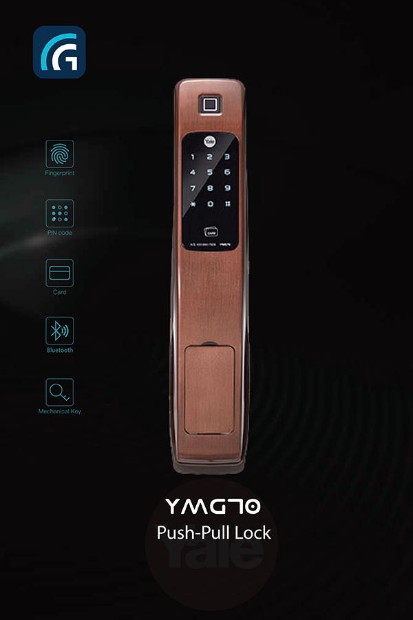 Khóa điện tử Yale YMG70
