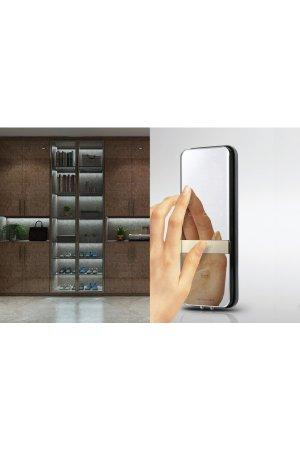 Khóa điện tử cửa kính - Khóa vân tay cửa kính
