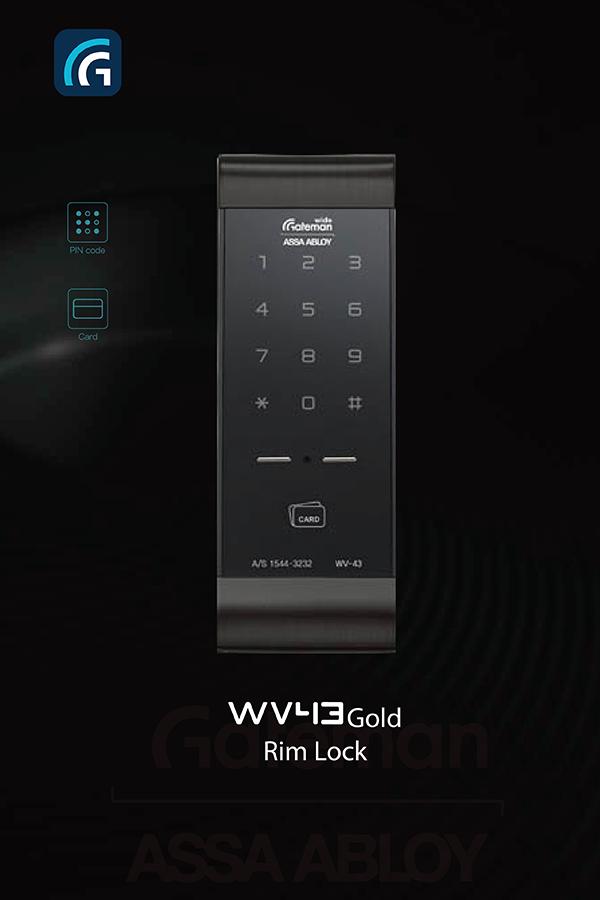 Khóa điện tử Gateman WV43