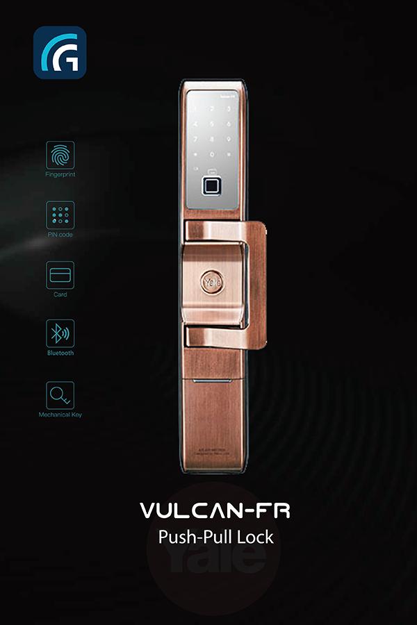 Khóa điện tử Yale Vulcan-FR