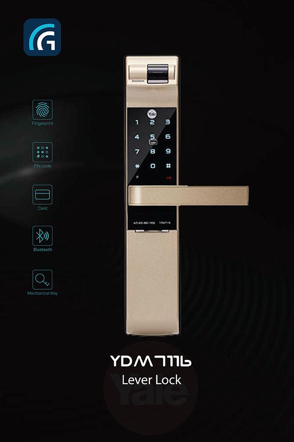 Khóa điện tử Yale YDM7116