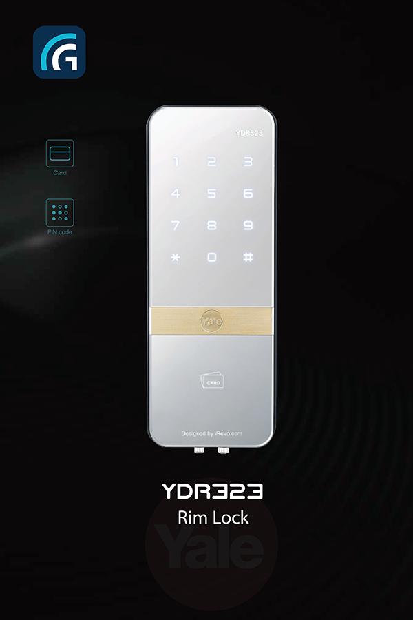 Khóa mã số - Thẻ từ Yale YDR 323