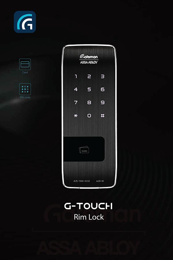 Khóa thẻ từ Gateman G-Touch
